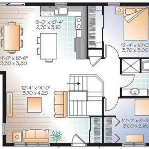 Planos De Casas Gratis Con Medidas Planos De Casas Casas De Dos Pisos Planos De Casas Medidas