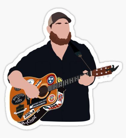 """""""Luke Combs"""" Stickers by LindseyL Country Musicians, Country Artists, Country Singers, Western Photo, Western Wall, Wall Collage, Wall Art, Cute Stickers, Mirror Stickers"""