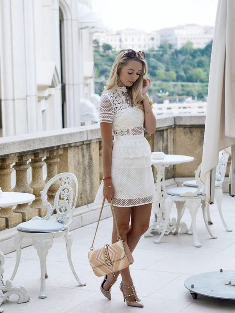 spring fashion trends- Lace Outfit | Half Chocolate #springstyle #springfashion #summerstyle #summerfashion #fashionblogger