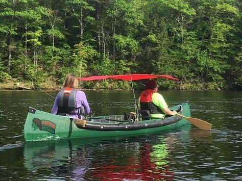 Canoe Solo Canopy | Canoe and kayak canopy | Canoe, Canoe