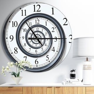 Overstock Com Online Shopping Bedding Furniture Electronics Jewelry Clothing More In 2020 Contemporary Wall Clock Metal Wall Clock Metal Clock