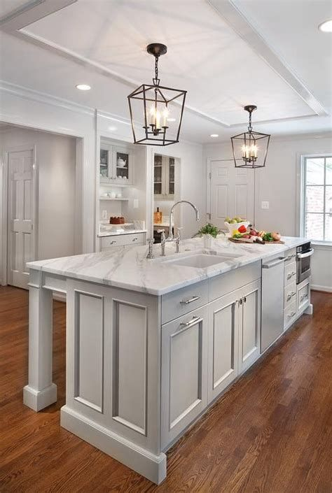 21 Kitchen Peninsula Ideas Basics Pros Cons Design Ideas With Images Kitchen Island With Sink Kitchen Island With Sink And Dishwasher Grey Kitchen Island