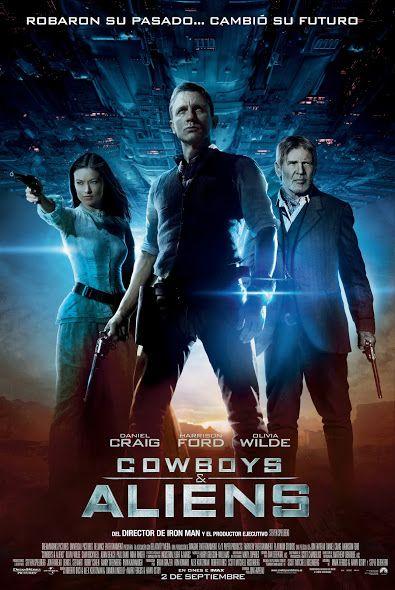 Galería Cowboys Aliens Japan Movie Poster Aliens Movie