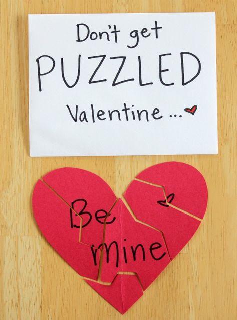 Puzzling Valentines