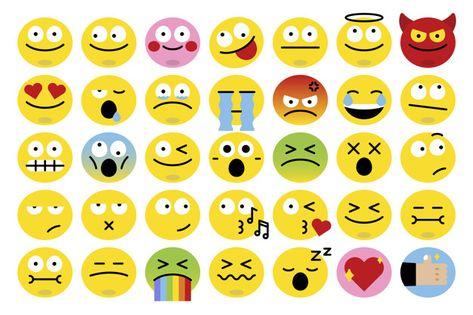 Download Different Emoji Set For Free Vecteur Gratuit Emoji Vecteur