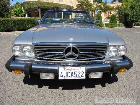 1983 Mercedes 380sl Roadster For Sale Roadsters Mercedes