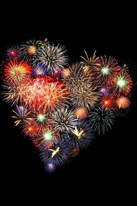 Hearts #Hearts #Firework #Art - #Art #Firework #Hearts #silvester