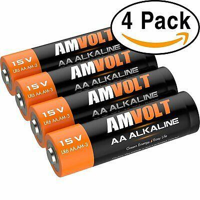 4 Pack Aa Batteries Premium Lr6 Alkaline Battery 1 5 Volt Non Rechargeable Alkaline Battery Batteries Alkaline