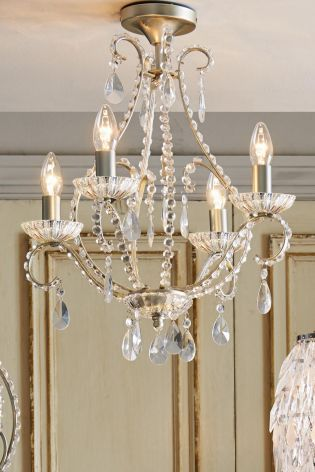 Fantasy 4 light ceiling fitting at next giles for the downstairs fantasy 4 light ceiling fitting at next giles for the downstairs loo i am thinking of a chandelier wick cottage lighting pinterest ceilings audiocablefo