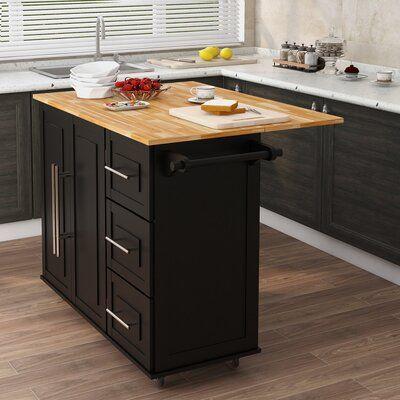 Prep Savour Kitchen Island In 2021 Kitchen Island On Wheels Small Kitchen Tables Elegant Kitchen Island