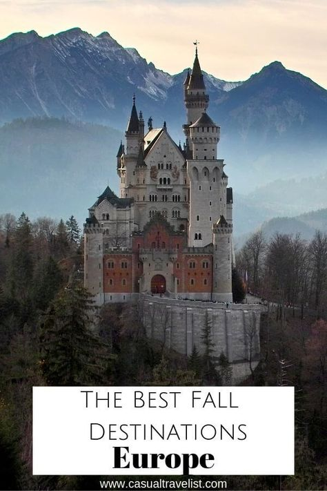 The Best Fall Travel Destinations in Europe