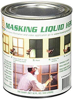 Associated Paint Not Available 157026 80 400 4 H20 Masking Liquid 1 Quart Clear House Paint Amazon Com House Painting House Painting Cost Painting Trim