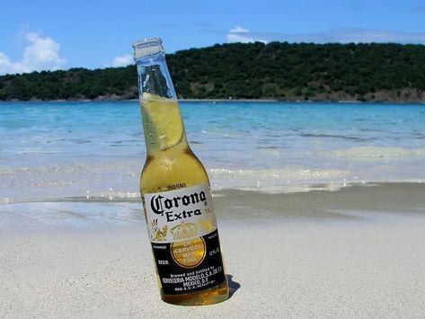 Corona Extra Beer Freezer Pilsner Crushed Ice Gel New Find Your Beach