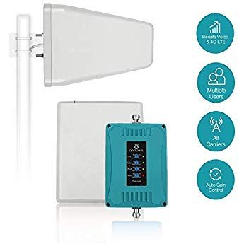 Home Cell Phone Signal Booster For All Carriers 3g 4g Lte Multi Band Mobile Phone Repeater Wit Cell Phone Booster Cell Phone Signal Booster Cell Phone Signal