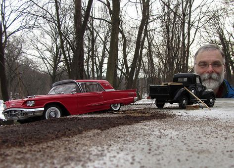Amazing Miniature Scenes Shot with Model Cars, Forced Perspective and a $250 P&S
