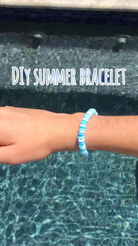 DIY summer bracelet!