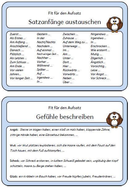 Die 120 Besten Bilder Zu Deutschunterricht Deutsch Unterricht