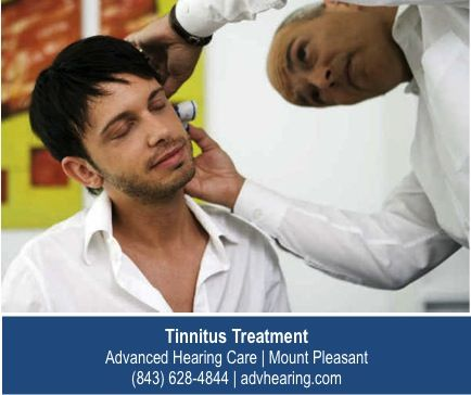 http://www.advhearing.com/our-services/tinnitus-therapy/ – Evaluating your tinnitus and choosing the right treatment option will include a hearing exam. Once physical causes of hearing loss are ruled out, the experts at Advanced Hearing Care will discuss different therapeutic approaches with you. Call our Mount Pleasant location for an appointment.