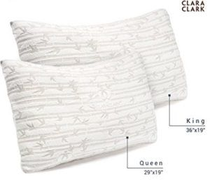 The Set Of 2 Bamboo Pillow Clara Clark Rayon Is Very Popular Online The Pillows In The Set Are Well Made And You