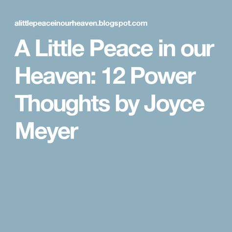 Top quotes by Joyce Meyer-https://s-media-cache-ak0.pinimg.com/474x/37/78/50/377850a0cae77daa8430e4bc27e36ae8.jpg