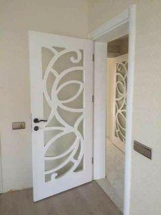 Door Design Dxf File Diseños De Puertas De Cristal Puertas De Baño Aluminio Interior De Casas De Lujo
