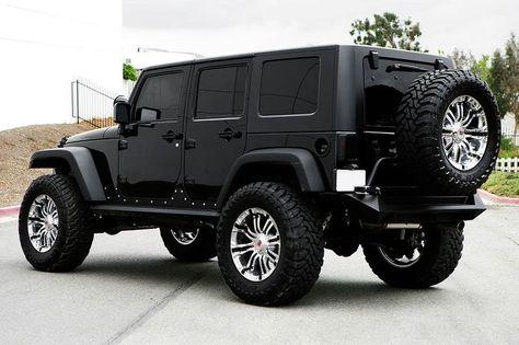 2015 Jeep Rubicon Black High Resolution Wallpaper #31964 Jeep Car ...