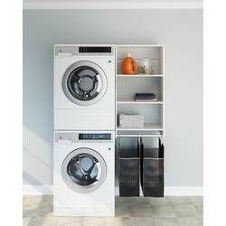 21 W 25 W Laundry And Closet Hamper Kit Closet Organizing Systems Closet Storage Systems Closet System