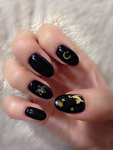 Prettynymph Witch Nails Sailor Moon Nails Witchy Nails
