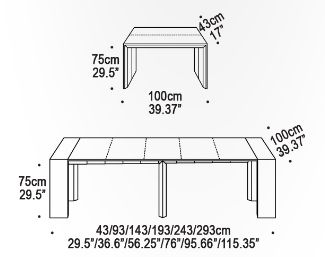 Good The Goliath Console/Dining Table Extends From 17u201d To 115u201d Utilizing A  Unique Aluminum Telescoping Mechanism. Resource Furniture | Pinterest |  Resource ...
