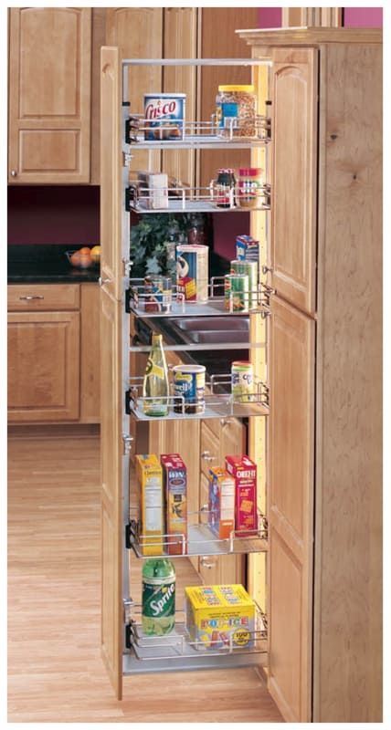 Rev A Shelf 5758 14 1 Pull Out Pantry Interior Design Kitchen Small Diy Kitchen Storage