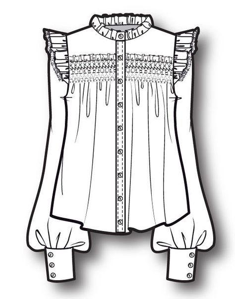 15 Ideas Fashion Drawing Shirt Sketch For 2019