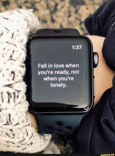 Fall in love when you're ready, not when you're Iondy. – popular memes on the site iFunny.co #seasons #animalsnature #lonely #fall #in #love #ready #quote #aesthetic #youre #not #iondy #pic