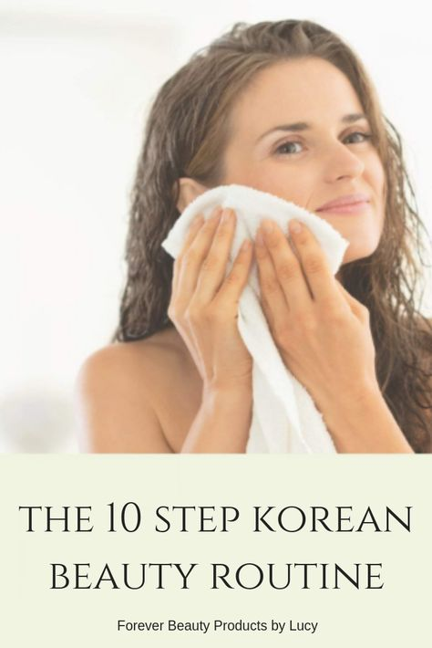 """10-step Korean beauty routine is not just a routine it's a lifestyle. Skin care Korean products us very simple and natural ingredients yet powerful. In today's society, a large percentage of people want beautiful skin so they turn to a """"quick fix"""" which are foundations, powders and concealers. The truth is, you can have flawless skin but it takes patience and discipline. Read on to learn more about the Korean skincare steps to flawless skin. Beauty Skin Care Routine Korean Skincare"""