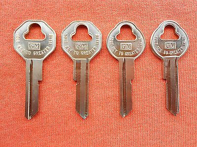 4 Gm Chevy Buick Pontiac Olds Key Blanks 46 47 48 1949 1950 1951 1952 1953 1954 In 2020 Key Blanks Key Blanks