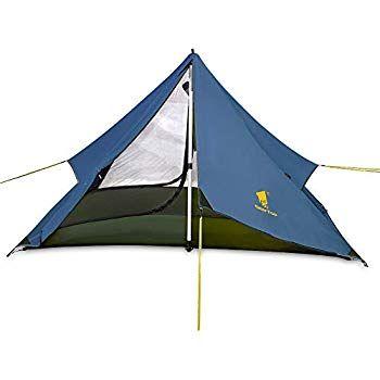GEERTOP Backpacking-Zelte GEERTOP 20D Ultraleicht 3 Jahreszeiten Backpacking Zelt