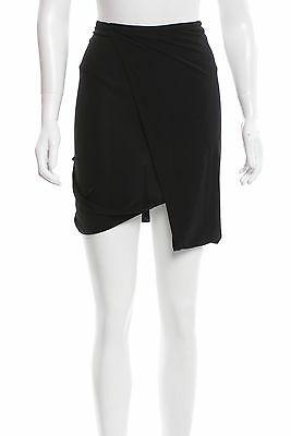 Helmut Lang Rare Archival Vintage Black Wrap Twist Draped Skirt 42 It S Draped Skirt Clothes For Women Bubble Skirt