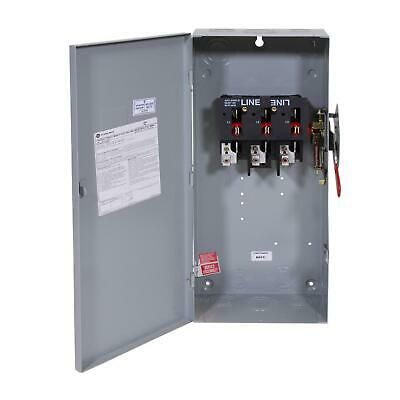 Details About Emergency Generator Power Transfer Safety Switch Non Fused Manual Ge 100amp 240v Emergency Generator Safety Switch Locker Storage