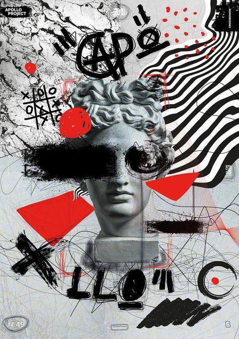 Digital Concrete Poster #49