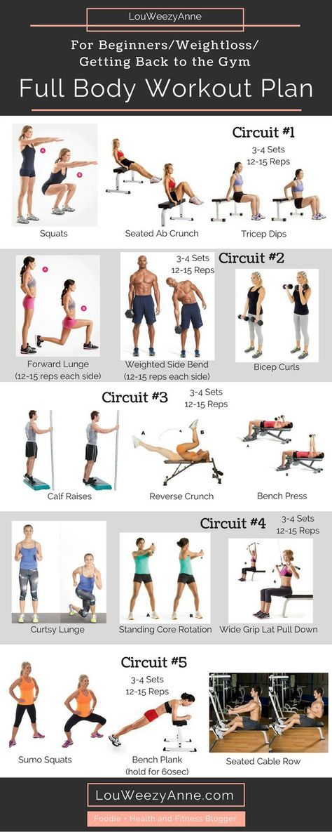 whole body weight loss exercises