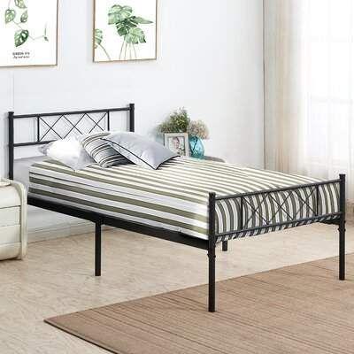 Wrought Studio Beccles Platform Bed Wrought Studio In 2019 Metal