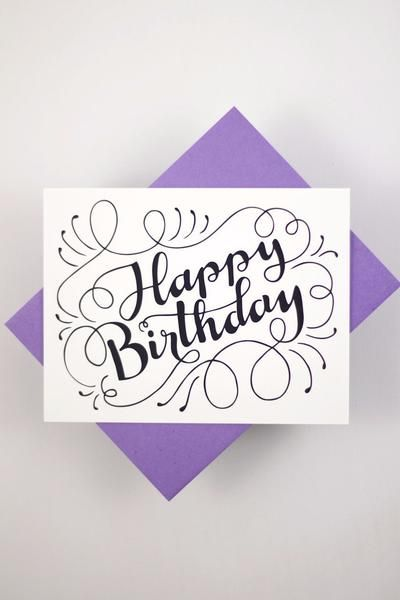 Send A Lovely Birthday Message With This Card That Features My