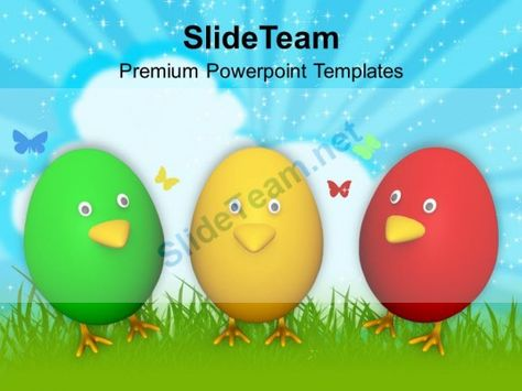 Balloons For Party Theme PowerPoint Templates PPT Themes And - easter powerpoint template