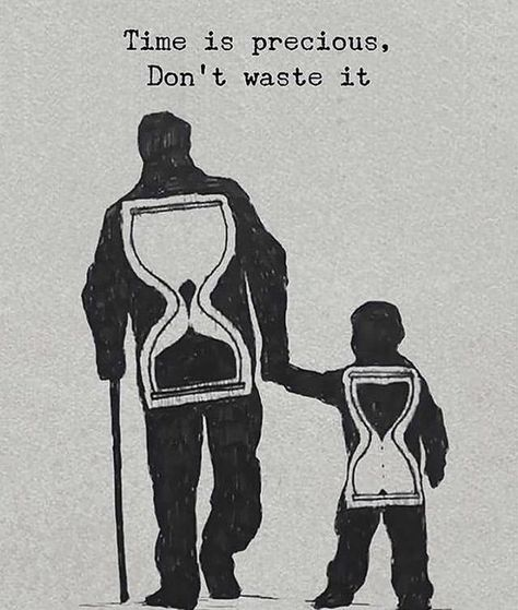Positive Quotes : Time is precious dont waste it. # Parenting drawing Positive Quotes : Time is precious dont waste it. - Hall Of Quotes Reality Quotes, Success Quotes, Wisdom Quotes, Quotes To Live By, Quotes Quotes, Family Quotes And Sayings, Tattoo Quotes, Care Quotes, Happy Quotes