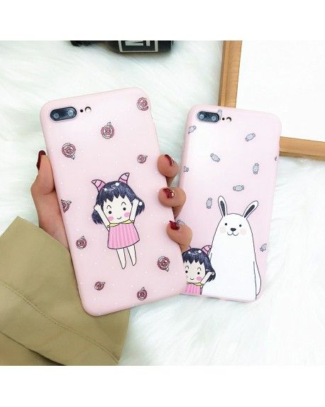 Fundas Anime Kawaii para iPhone Estuche