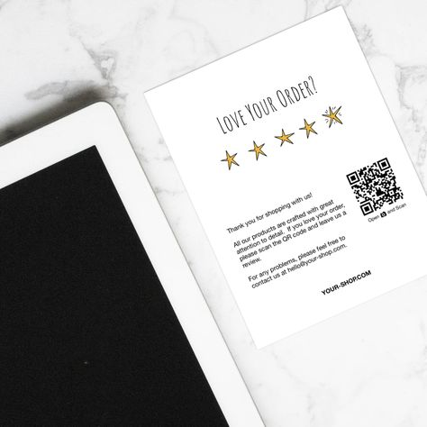Review Cards Feedback Cards Packaging Inserts For Etsy Sellers Online Sellers Instant Download Love Your Order 5 Stars Etsy Packaging Etsy Reviews Packaging Ideas Business