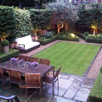 Bahce Dekorasyon Fikirleri Ve Ornekleri Evde Mimar In 2020 Backyard Hill Landscaping Small Backyard Landscaping Small Back Gardens