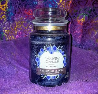 Yankee Candle 50th Anniversary Returning Classic Blueberry