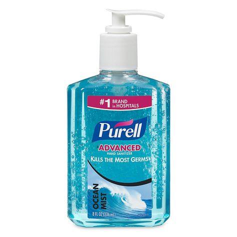 Purell Instant Hand Sanitizer Blue Ocean Mist 8 Oz Hand