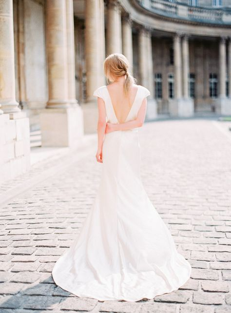 Parisian organic wedding style | Wedding Sparrow
