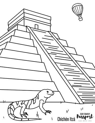 Free Kids Mexico Coloring Pages Coloring Pages Mexico Color